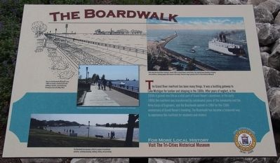 The Boardwalk Marker image. Click for full size.