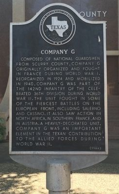 Company G Marker image. Click for full size.