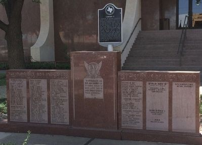 Scurry County War Memorial image. Click for full size.