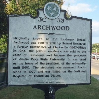 Archwood Marker image. Click for full size.
