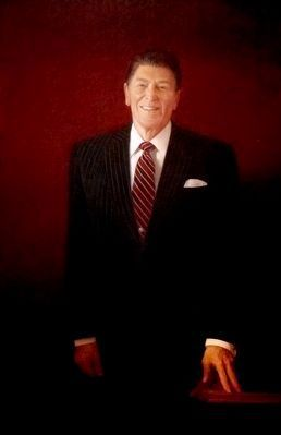 Ronald Reagan image. Click for full size.
