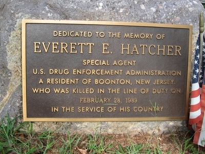 Everett E. Hatcher Marker image. Click for full size.