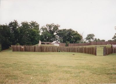 Reconstructed Fort Loudon image. Click for full size.