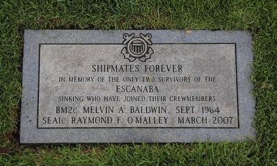"""Shipmates Forever"" Memorial Stone image. Click for full size."