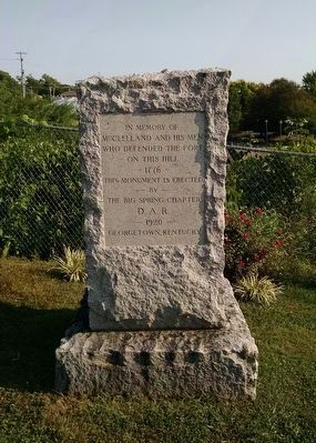 Scott County Revolutionary War Memorial (South Face) image. Click for full size.