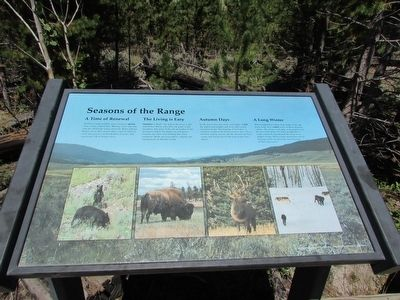 Seasons of the Range Marker image. Click for full size.