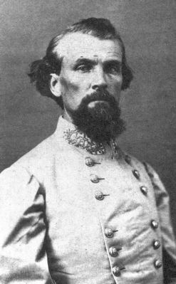Photo of Nathan Bedford Forrest as Lieutenant General. image. Click for full size.