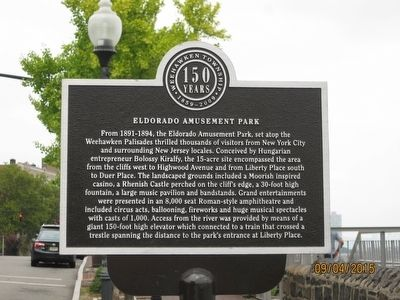 Eldorado Amusement Park Marker image. Click for full size.