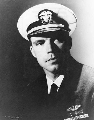"Cmdr. D. W. ""Mush"" Morton, USN image. Click for full size."
