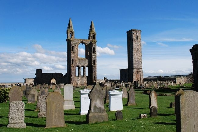 St Andrews Cathedral image. Click for full size.