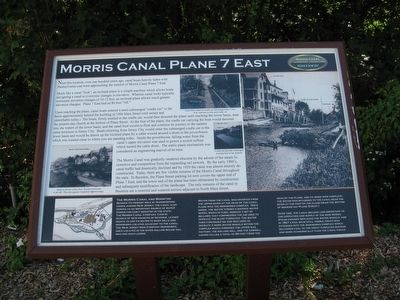 Morris Canal Plane 7 East Marker image. Click for full size.