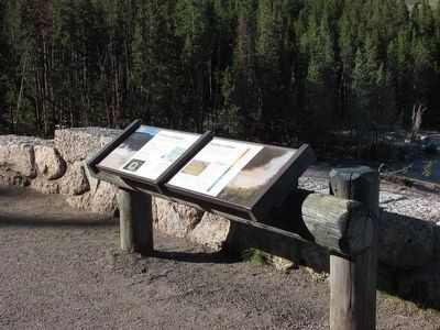 Yellowstone Markers image. Click for full size.