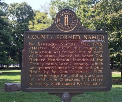 County Formed, Named Marker image. Click for full size.
