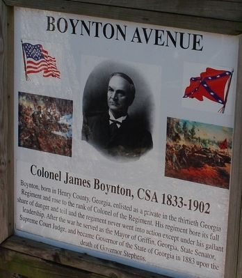 Boynton Avenue Marker image. Click for full size.