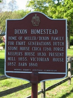 Dixon Homestead Marker image. Click for full size.