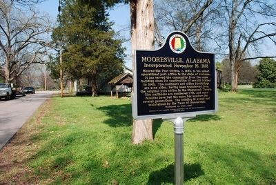 Mooresville, Alabama/ Mooresville Stagecoach Inn and Tavern Marker image. Click for full size.