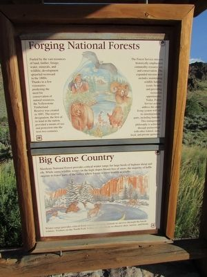 Forging National Forests Marker image. Click for full size.