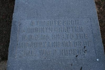 William P. Rogers Marker image. Click for full size.