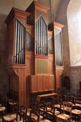 Sainte-M�re-�glise Church Organ image. Click for full size.