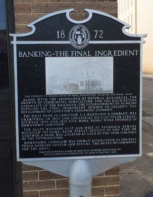 Banking — The Final Ingredient Marker image. Click for full size.