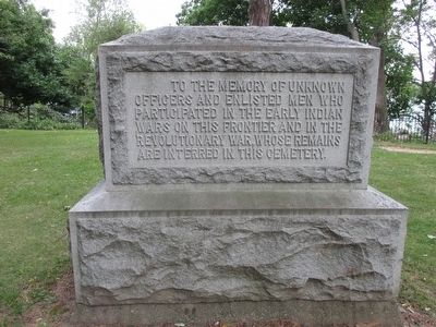 Old Fort Niagara Revolutionary War & Indian Wars Memorial image. Click for full size.