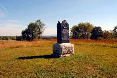 5th Maryland Veterans' Volunteer Infantry Monument Photo, Click for full size