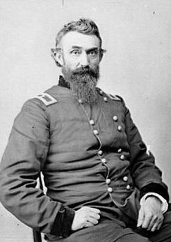 Brig. General Nathan Kimball (1822-1898) image. Click for full size.