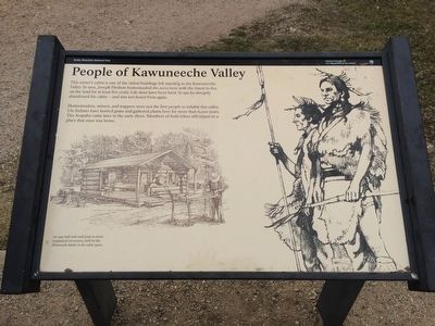 People of Kawuneeche Valley Marker image. Click for full size.