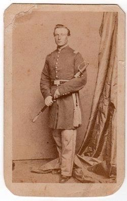 Lt. Col. David L. Stricker (1834-1864) image. Click for full size.
