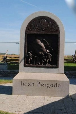 Irish Brigade Marker image. Click for full size.
