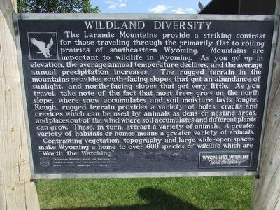 Wildlife Diversity Marker image. Click for full size.