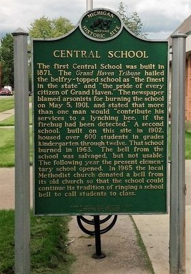 Central School Marker image, Click for more information