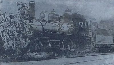 An American Type Engine, used by the Texas & Pacific Railway from 1872-1900 image. Click for full size.