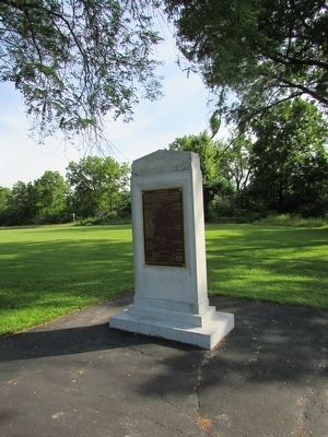 Fallen Timbers Battle Memorial Marker image. Click for full size.