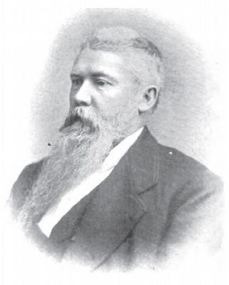 Col. Joseph A. Walker (1835-1902) image. Click for full size.