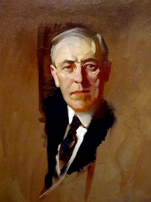 Woodrow Wilson image. Click for full size.