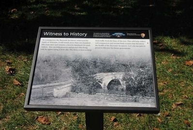 Witness to History Marker image. Click for full size.