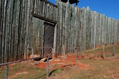 A Tight Stockade / North Gate image. Click for full size.