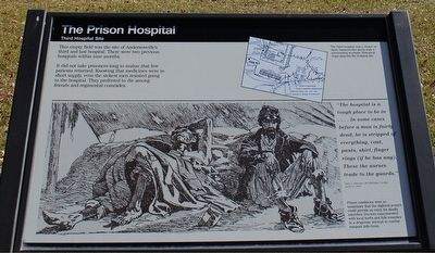 The Prison Hospital Marker image. Click for full size.