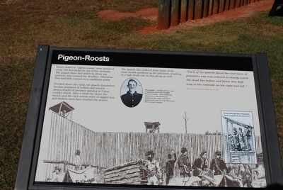 Pigeon-Roosts Marker image. Click for full size.