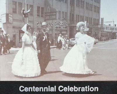 Centennial celebration. image. Click for full size.