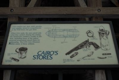 Cairo Stores Marker image. Click for full size.