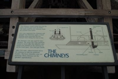 The Chimneys Marker image. Click for full size.