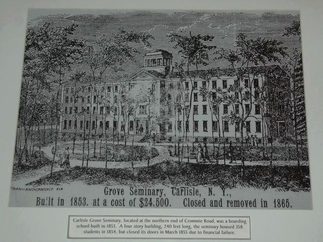 Carlisle Grove Seminary image. Click for full size.
