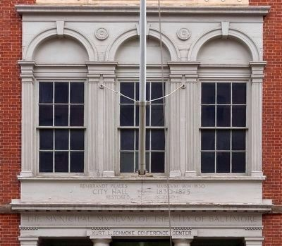 The Municipal Museum of the City of Baltimore image. Click for full size.