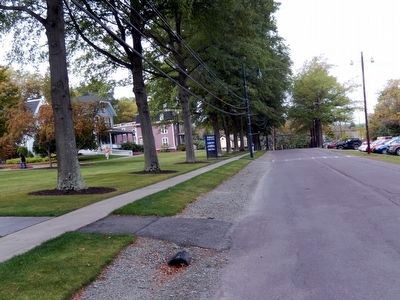 College Avenue in Keystone College image. Click for full size.