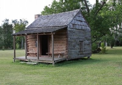 Sweeny-Waddy Log Cabin image. Click for full size.
