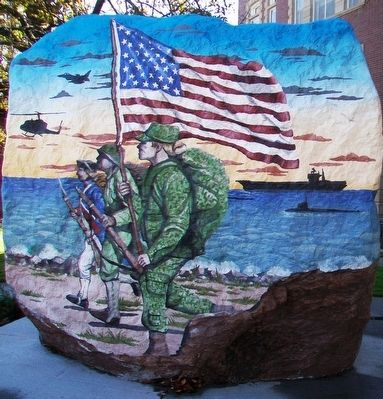 Decatur County Freedom Rock image. Click for full size.