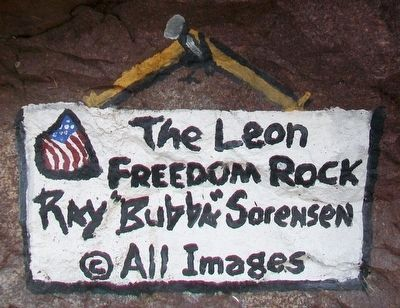 Decatur County Freedom Rock Artist image. Click for full size.