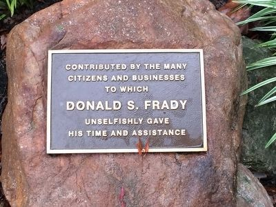 Donald S. Frady Park image. Click for full size.